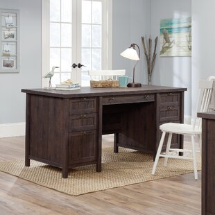Michigamme Executive Desk by Gracie Oaks