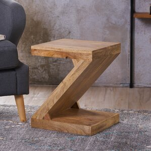 Wiest Wood End Table by Va..