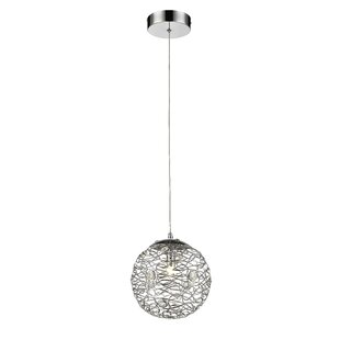 Lelia 1-Light Globe Pendant by Mercer41