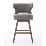 Carnot 26 Swivel Bar Stool by Latitude Run