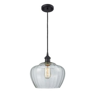 Caelo 1-Light Globe Pendant by Orren Ellis