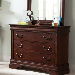 Raina 3 Drawer Dresser by Alcott Hill