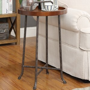 Billa End Table by World Menagerie