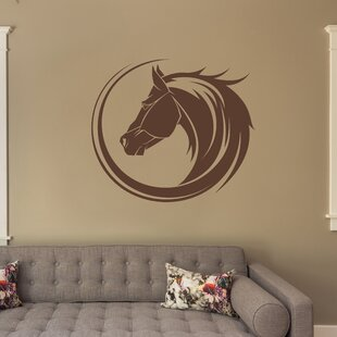 Horse Bust Wall Decal