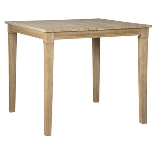 Anguiano Teak Bar Table