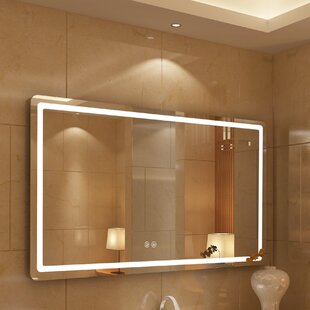 Bode Embedded LED Daylight Bathroom Mirror By Orren Ellis