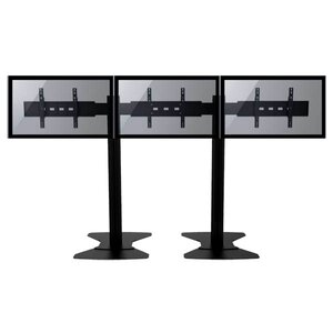 TygerClaw Mobile 3 TVs Universal Floor Mount for 30-60 Flat Panel Screens by Homevision Technology