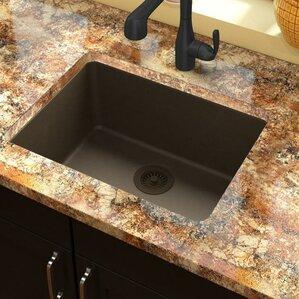 Bathroom Sinks Granite granite kitchen sinks you'll love | wayfair