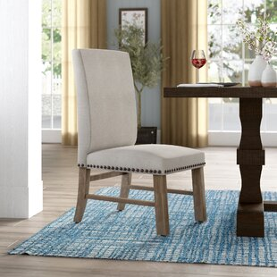 Wilshire Upholstered Dining Chair (Set Of 2) by Gracie Oaks Coupon