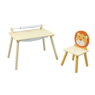 Nick Children's 2 Piece Activity Table And Chair Set By Harriet Bee