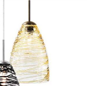 Wrought Studio Ottinger 1-Light Cone Pendant