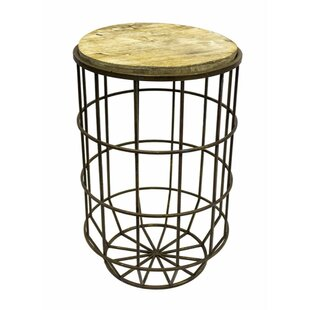 Athens Bohemian Tall End Table by Gracie Oaks Discount