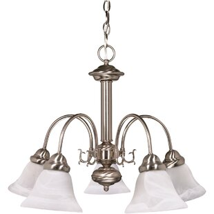 Three Posts Harrold 5-Light Chandelier