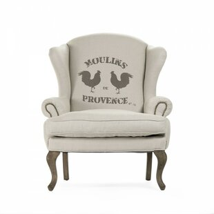 Kelkar Wingback Chair by August Grove