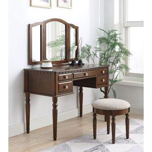 Hendon Vanity Set with Mirror