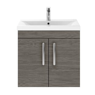 Athena 600mm Wall Mount Vanity Unit by Premier