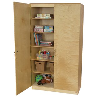 Teacher's 1 Compartment Classroom Cabinet with Doors by Wood Designs