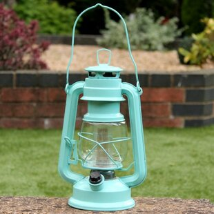 Battery Operated LED Hurricane Hanging Lantern By Sol 72 Outdoor