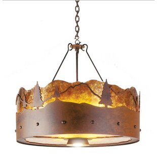 Steel Partners 3-Light Chandelier