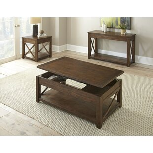 Winston Porter Laplant 3 Piece Coffee Table Set