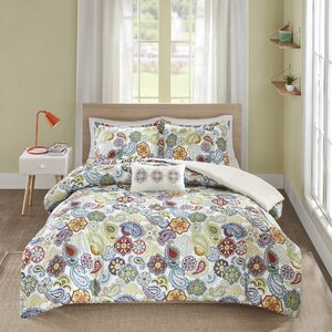 Aguirre 4 Piece Duvet Cover Set