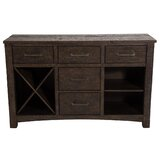 Farmhouse Rustic Wine Bottle Storage Equipped Sideboards