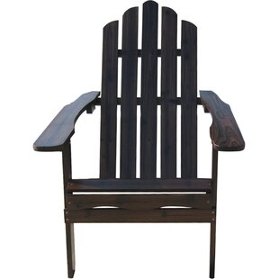 String Light Company Wood Adirondack Chair