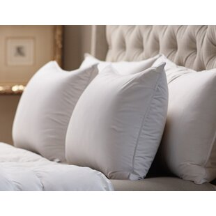Shop Medium Sleeping 360 Thread Count Filled Down Alternative Pillow By Alwyn Home