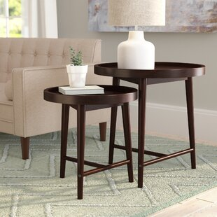 Toby 2 Piece Nesting Tables by Langley Street