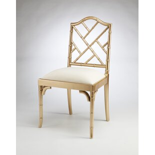 Hilal Solid Wood Dining Chair by Bayou Br..