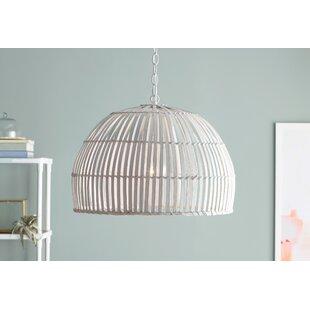 Delmore 1-Light Dome Penda..