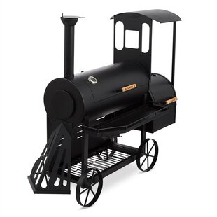 Dampflok Offset Charcoal Smoker And Grill By Klarstein