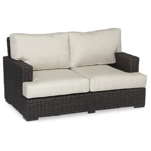 Cardiff Loveseat with Cushions by Sunset West