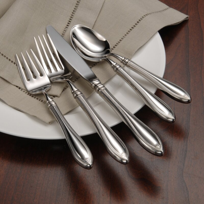 Oneida Community Pattern Sheraton Set of 4 Salad Forks
