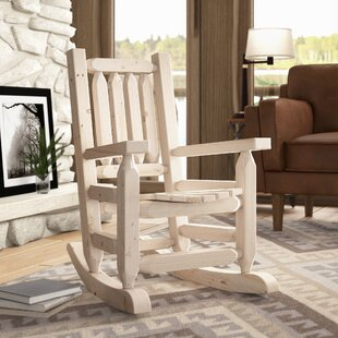 Inexpensive Abella Log Rocker Child's by Loon Peak Reviews (2019) & Buyer's Guide