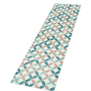Inspiration Pink/Blue Rug by Carpet City