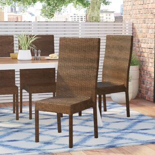 Banker Patio Dining Chair (Set of 4)