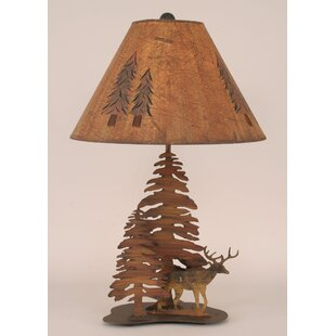 Rustic Living Iron Deer 28.5 Table Lamp