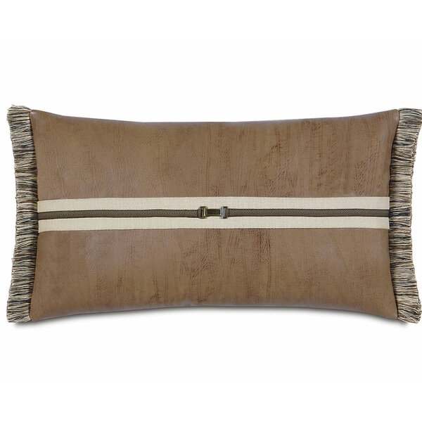 Leather Sued Pillows Perigold