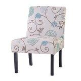 Hazina Velvet Upholstered Parsons Chair (Set of 2) by Red Barrel Studio®