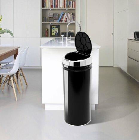 Homcom 42 Litre Luxury Automatic Sensor Dustbin Kitchen Waste Bin