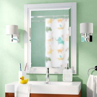 Read Reviews Trey Bathroom/Vanity Mirror ByViv + Rae