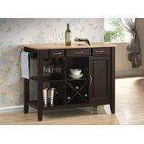 Annie Zuberi Kitchen Cart by Charlton Home®