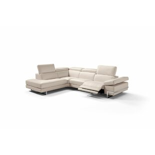 Versha Leather Sectional b..