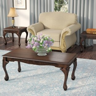 World Menagerie Bodhi Jaydin Coffee Table Set