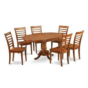 East West Furniture Portland 7 Piece Dining Set