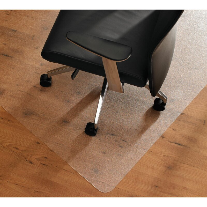 Non Slip Frosted Floor Protector Chair Mat