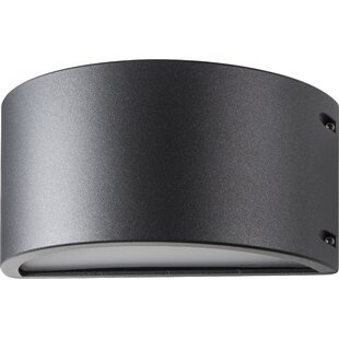 Amos LED Outdoor Flush Mount by Ebern Designs