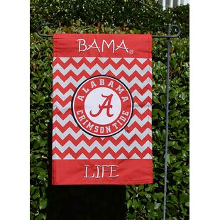 Alabama Inlifein Polyester 1 x 1'6 ft. Garden Flag by Seasons Designs