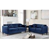 Bennington 2 Piece Living Room Set by House of Hampton®